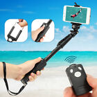 Extendable Selfie Stick Monopod + bluetooth Remote Shutter For Iphone X