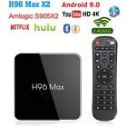 H96 Max Android 9.0 Smart TV Box 64G Quad Core 4K HD 5GHz WiFi HDMI Media Player picture