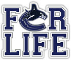 """Vancouver Canucks For Life NHL Sport Car Bumper Sticker Decal """"SIZES'' $4.25 USD on eBay"""