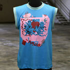"""Michael Jackson BEAT IT Video Accurate """"AMOUR"""" T-shirt, Thriller, Sleeveless"""