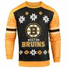 Forever Collectibles NHL Men's Boston Bruins Printed Ugly Sweater, Yellow/Black $44.95 USD on eBay