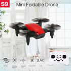 S9 2.4G 4CH 6axis Gyro Mini Drone Headless One Key Return Foldable RC Quadcopter