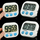 4X Kitchen Large LCD Digital Cook Timer Count Down Up Clock Loud Alarm Magnetic
