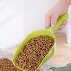 Plastic Pet Cat Dog Puppy Food Scooper Spoon Scoop Shovel Feeding Seed Feeder PG