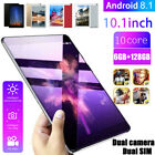 "10.1"" Inch Dual Sim Tablet Pc Android 8.1 6g+128gb 10 Core Wifi Bluetooth Camera"