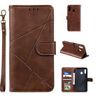 Magnet Leather Card Wallet Stand Phone Case Cover For Samsung Galaxy A&J Series