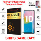 For Samsung Galaxy Note 10/10 Plus Full Cover 3D Tempered Glass Screen Protector