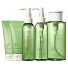 Innisfree Green Tea Cleansing (Gel-To-Foam/Oil/Water/Foam Cleanser/Morning)