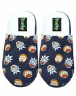 Rick And Morty Character House Shoes Adults Black Mule Slippers