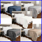 Kirkland Signature Plush Blanket - VARIOUS SIZES AND COLORS (PRE-OWNED) image