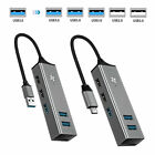 5 Ports USB 3.0/Type C to 3 USB 3.0+2 USB 2.0 Port Adapter for Laptop Macbook PC