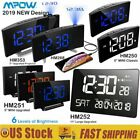 Mpow LED Digital Alarm Clock Curved Screen 5/11 Large Display Clocks Xmas Gift