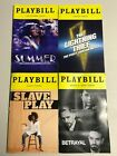 Kyпить Playbills, Summer, The Lightning Thief, Betrayal,  Slave Play, (Any 5 for $25) на еВаy.соm