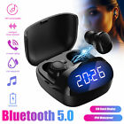 TWS Wireless Bluetooth 5.0 Headphone Headset Sports Stereo Earphone Earbuds 2020