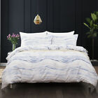Clearance Striped Duvet Cover Sets Queen King Size Bedding Set Pillow Case US image