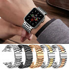 Stainless Steel Wrist iWatch Band Strap For Apple Watch Series 5/4/3/2/1 40/44mm image
