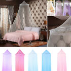 Child Kids Hanging Round Lace Canopy Curtain Bed Canopy Netting Mosquito Net image