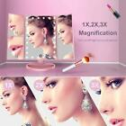 BESTOPE Makeup Vanity Mirror with Lights, 2X/3X Magnification, 21 LED Lighted