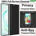 For Samsung Galaxy S8 Plus Privacy Full Screen Protector Anti-Spy 9H Hardness