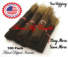 Incense Sticks 100 Bulk Hand Dipped Wholesale LARGEST VARIETY Strong Scent Punk