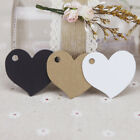 Various DIY Kraft Paper Blank Label Pack Greeting Hang Tag Gifts Message Cards