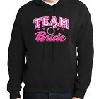 Bridal Shower Hoodie Team Bride Bachelorette Party Hooded Pullover - 1127C