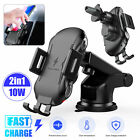 Qi Wireless Automatic Car Charging Charger Mount Clamping air Vent Phone Holder
