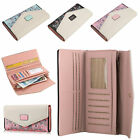 US Women Lady Clutch Leather Wallet Long Card Holder Phone Case Purse Handbag