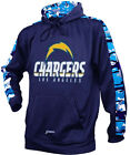 Zubaz NFL Men's Los Angeles Chargers Pullover Hoodie with Camo Print $39.99 USD on eBay