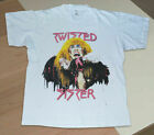 Twisted Sister Stay Hungry Tour White T shirt Unisex image