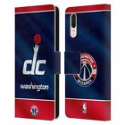 OFFICIAL NBA 2019/20 WASHINGTON WIZARDS LEATHER BOOK CASE FOR HUAWEI PHONES