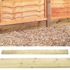 Forest Garden 183cm Pressure Treated Timber Gravel Boards Fencing Accessory