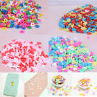 10g/pack Polymer clay fake candy sweets sprinkles diy slime phone supp  BB image