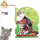Soft Nylon Pet Cat Harness/ Adjustable Comfort Pet Leash Products