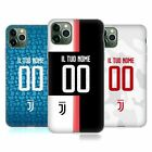 CUSTOM JUVENTUS FC 2019/20 PERSONALISED RACE KIT SOFT GEL CASE FOR APPLE iPHONE