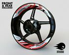 2-piece Rim Stickers -  Triumph - Wheel Stripes Decals Tape $101.81 CAD on eBay