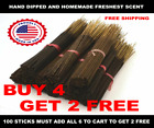INCENSE STICKS PUNK HEAVILY SCENTED HANDMADE  Bulk Wholesale  100 pack  B4G2
