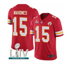 Men's Kansas City Chiefs #15 Patrick Mahomes Limited Super Bowl LIV Jersey-Red $57.99 USD on eBay