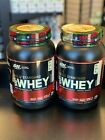 Optimum Nutrition Gold Standard 100% Whey Protein Isolate 2lbs Chose Flavor SALE