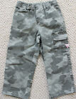 Guess Jeans 24 M Camouflage Cargo Pants  Boy's Elastic Waist NWT Camo