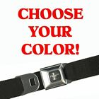 Mustang Seatbelt Belts - Choose Your Color! 100+ Styles Available In Our Store!