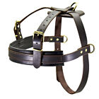 Large Leather Dog Harnesses Training Working Harness No Pull Pitbull Doberman XL