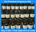 Fragrance Oils - 2 oz (59ml) Premium Aromatherapy Fragrance Oils