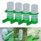 4Pcs Pack Pet Bird Parrot Water Feeder Automatic Water Feeding Bird Cage Parts