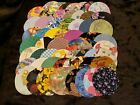 Die Cut by Hand Fabric Circles for Quilting, Sewing, Appliques, YoYo's