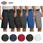 "Dickies Men's 42283 13"" Flat Front Loose Fit Multi Pocket Uniform Work Shorts <br/> QUICK & FREE SHIPPING and FREE RETURNS, 100% AUTHENTIC."
