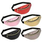 Fashion Pure Color Women Shoulder Waist Fanny Belt Packs Leather Chest Bags N#s7
