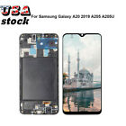 Fit For Samsung Galaxy A10丨A20丨A30丨A50 LCD Touch Screen Digitizer ±Frame lot