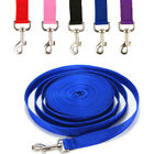 5M/10M/20M Dog Tracking Lead Training Leash Lunge Recall Obedience Nylon Rope