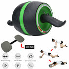 Abdominal Roller Ab Carver Muscle Exercisers Wheel Abs Fitness Workout Gym NEW image